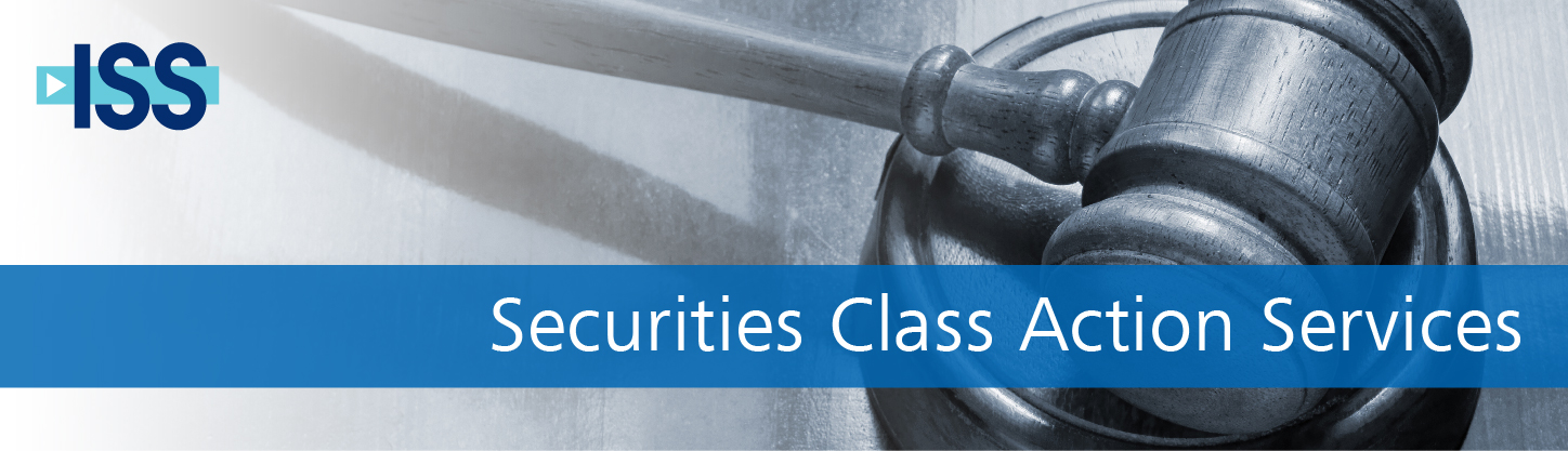 ISS Securities Class Action Services