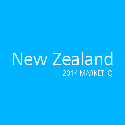 New Zealand 2014 Market IQ