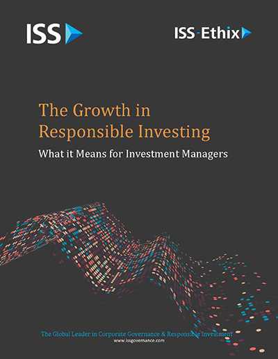 The Growth in Sustainable Investing ISS-Ethix
