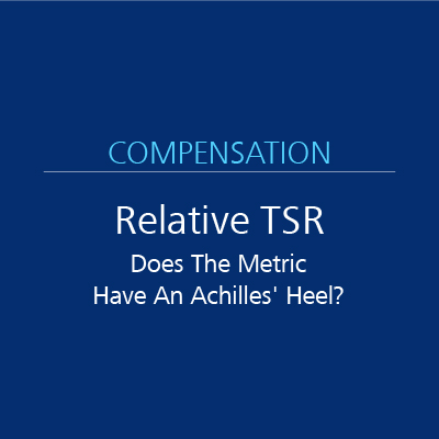 Relative Tsr Does The Metric Have An Achilles Heel Iss