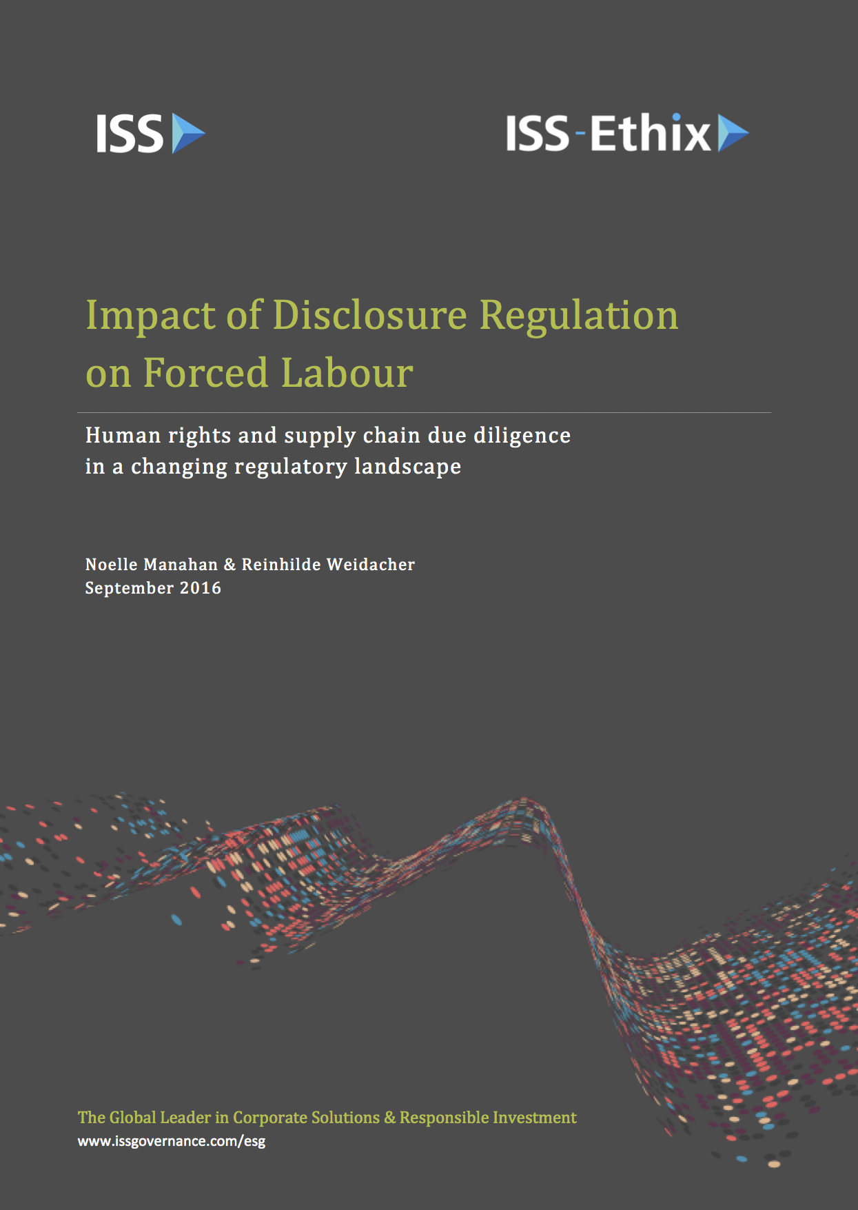 Impact of Disclosure Regulation on Forced Labour
