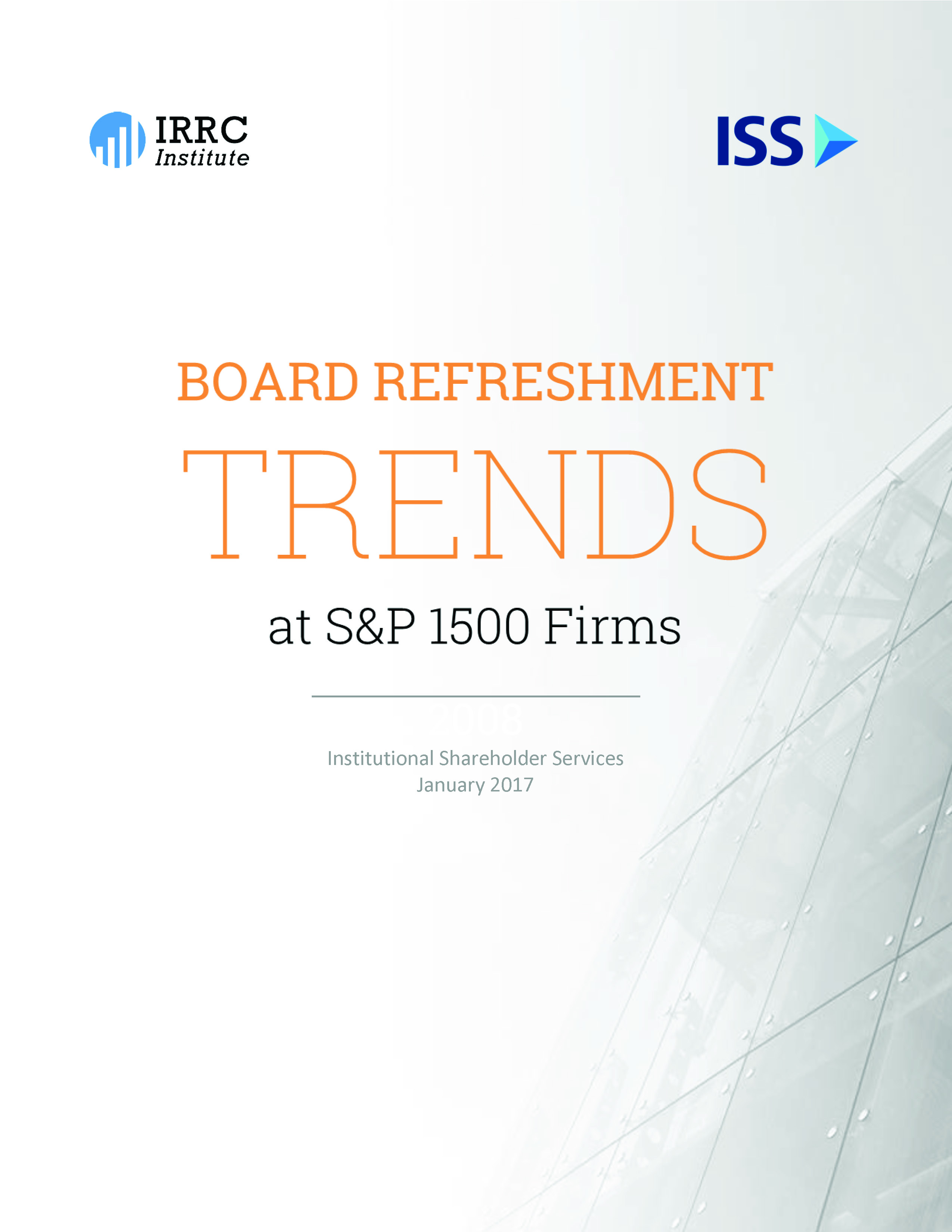 Board Refreshment Trends at S&P 1500 Firms - ISS