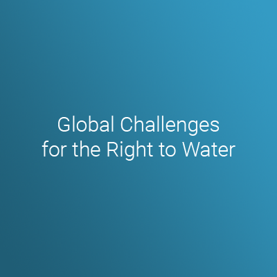 Global Challenges For The Right To Water Iss