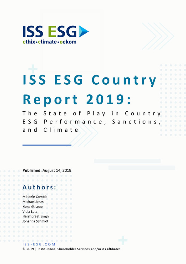ESG Country Report 2019