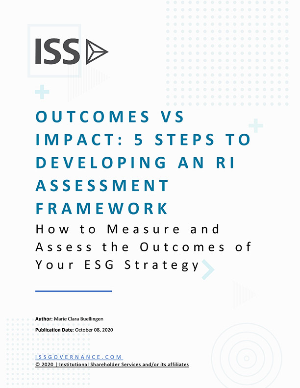 Outcome vs Impact: 5 Steps to Developing an RI Assessment Framework