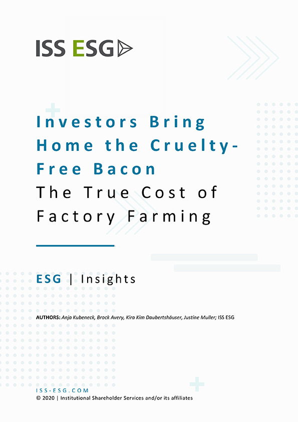 Investors Bring Home the Cruelty-Free Bacon: The True Cost of Factory Farming