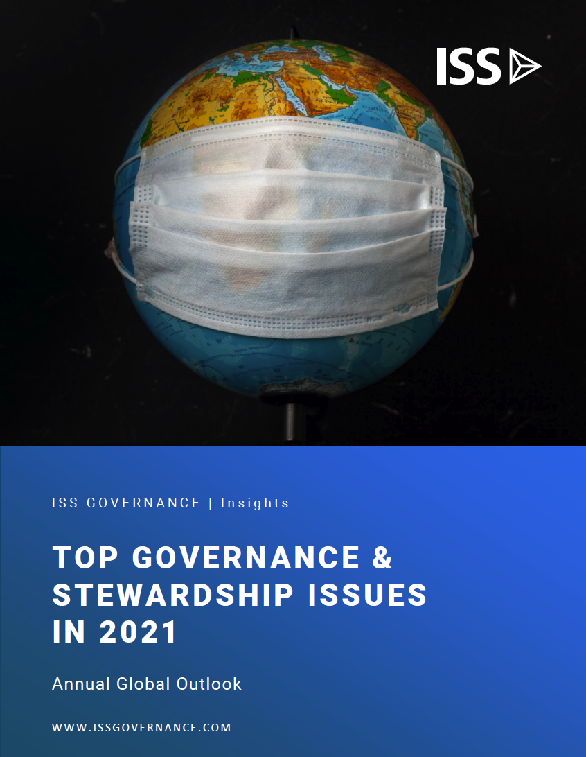Top Governance & Stewardship Issues in 2021