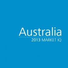Australia 2013 Market IQ
