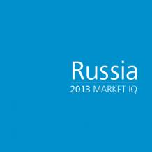 Russia 2013 Market IQ